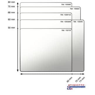 Étiquettes - Transparent
