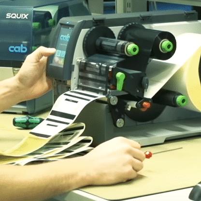 installation d'une imprimante cab