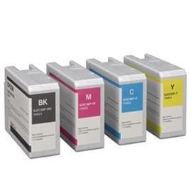 Cartouches 4 couleurs pour imprimante Epson ColorWorks